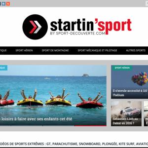 Blog collaboratif pour Sport-Découverte